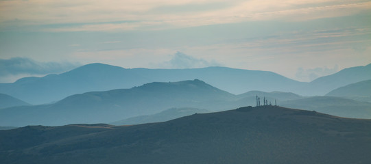 Hills of Umbria, Italy