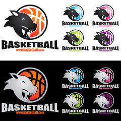 Logo basket animal