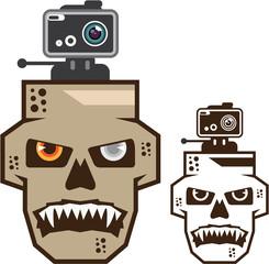 Skull headcam