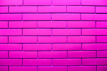 Modern colorful style bricks background , backdrop , wallpaper , neon color wall