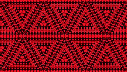 Native American seamless pattern. Vector illustration