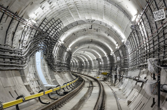 The subway tunnel