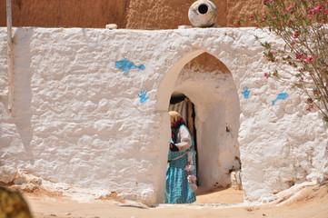 Housing Berbers in Tunisia