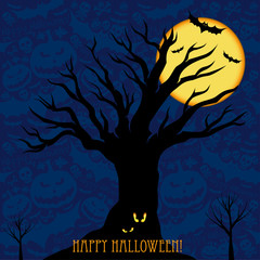 Halloween card  or background.