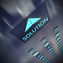 Solution elevator