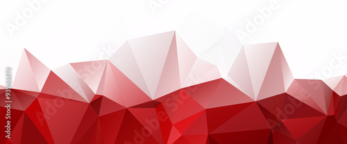 Quot White Red Triangular Abstract Background Quot Stock Image And