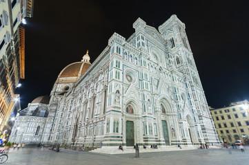 Fototapete -  Basilica of Santa Maria del Fiore in Florence, Tuscany, Italy