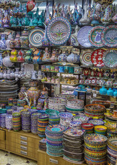 Colorful Turkish ceramics