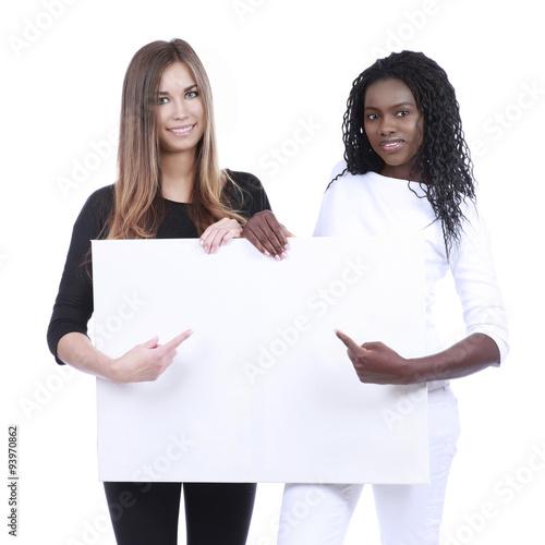 WeiГџe Frau aus afrikanischer Frau