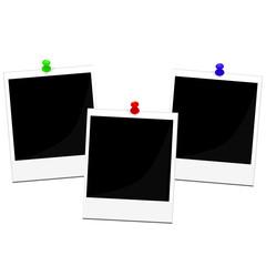 Polaroid frames set