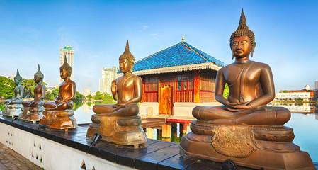 Seema Malaka temple. Panorama