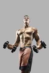 Bodibuilder In the gym