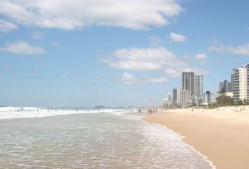 Surfers Paradise Beach in Australia