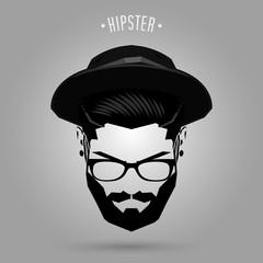 hipster men hat