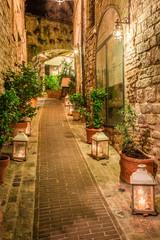 Włoska uliczka 3D