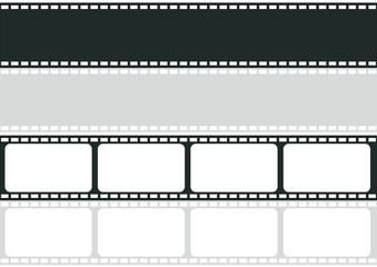 vector film strip multi style illustrator