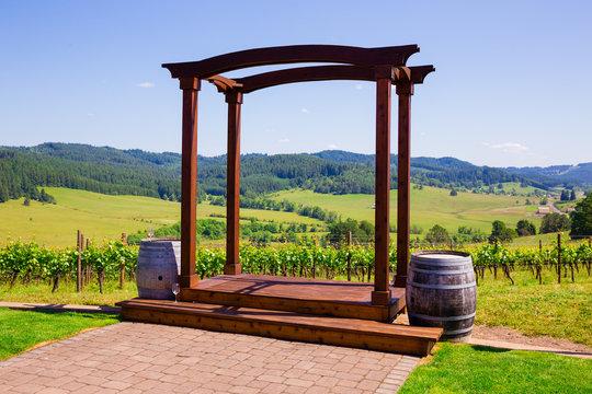 Oregon Winery Wedding Venue