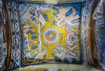 Canvas Prints Imagination Detail of the decoration of the famous chora church in istanbul
