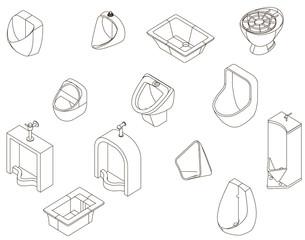 Icons urinal