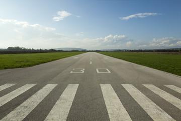 Foto auf Acrylglas Flughafen Airstrip