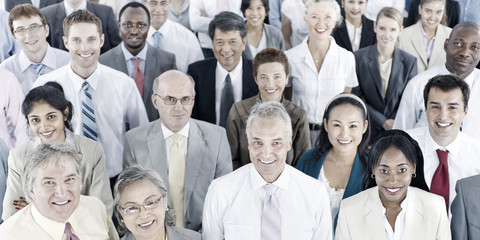 Business People Audience Team Gathering Group Concept