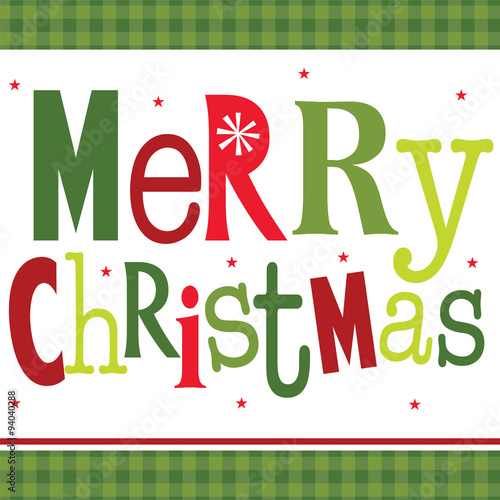 christmas greeting with the words merry christmaseps 10 hi res jpg included - Merry Christmas Words