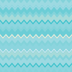 Seamless decorative vector background with zigzag lines