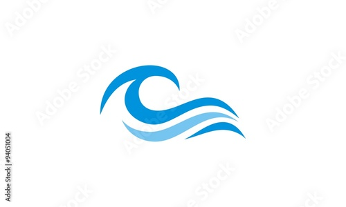 ocean wave abstract water logo stock image and royalty free vector rh fotolia com z wave logo vector z wave logo vector