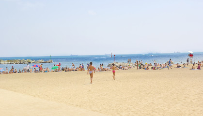 Barcelona Beach ,Spain