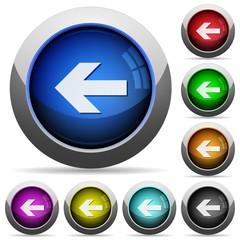 Left arrow button set