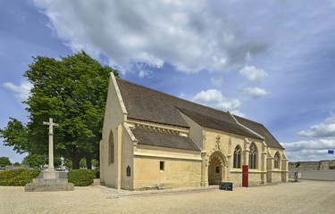 Former church in the castle Caen, Normandy, France