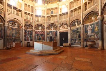 baptistery of Cremona, Lombardia, Italia