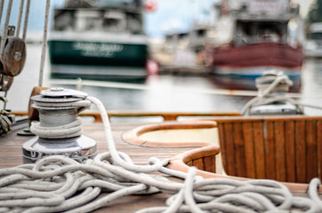 Sailing Cowichan Bay BC Canada III