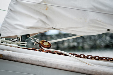 Sailing Cowichan Bay BC Canada I