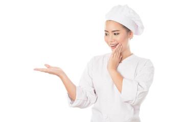 Woman Chef - In Studio Shot