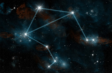 The Constellation of Libra the Scales