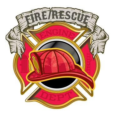 Maltese cross fire Department