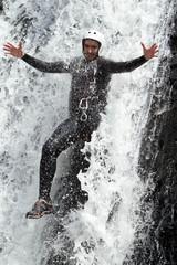 Extreme Canyoning Waterfall Fun
