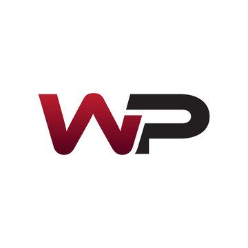 Modern initial Logo WP