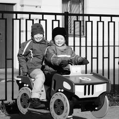 Children playing on the Playground