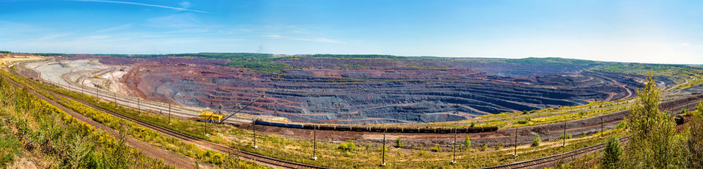 Mikhailovsky iron mine within Kursk Magnetic Anomaly, Russia