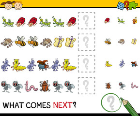 pattern task for preschool kids