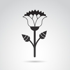 Egyptian flower VECTOR art.