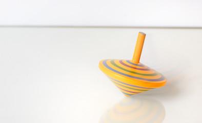 Whirligig in motion