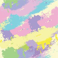 Colorful splashes seamless pattern