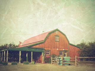 photo vintage d'une maison au canada