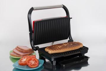 open panini machine