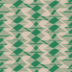 green triangle texture seamless pattern background