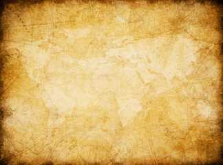 Wall Mural - vintage world map background stylization