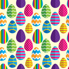 Easter egg pattern